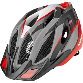KED Spiri Two Casco, red black matt